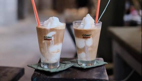 Kết quả hình ảnh cho cà phê cốt dừa